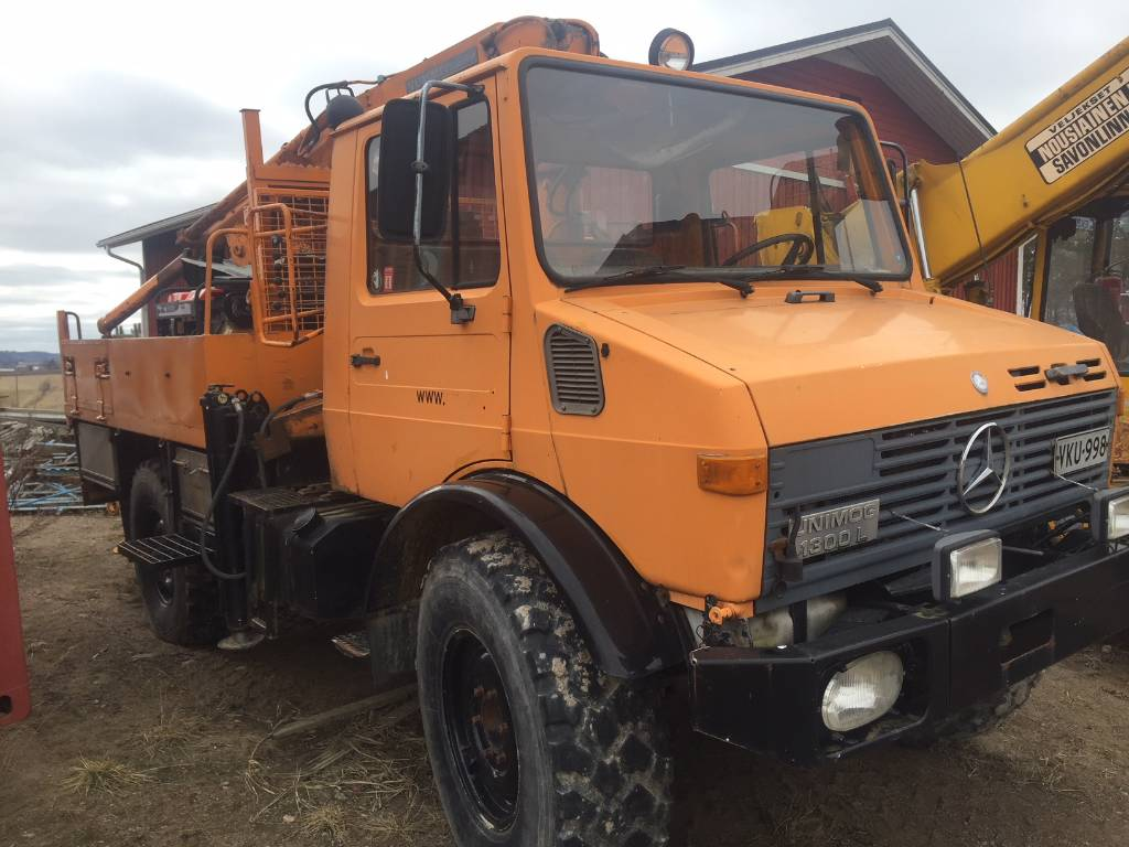 Mercedes-Benz UNIMOG U1300L, Flatbed / Dropside trucks, Transportation