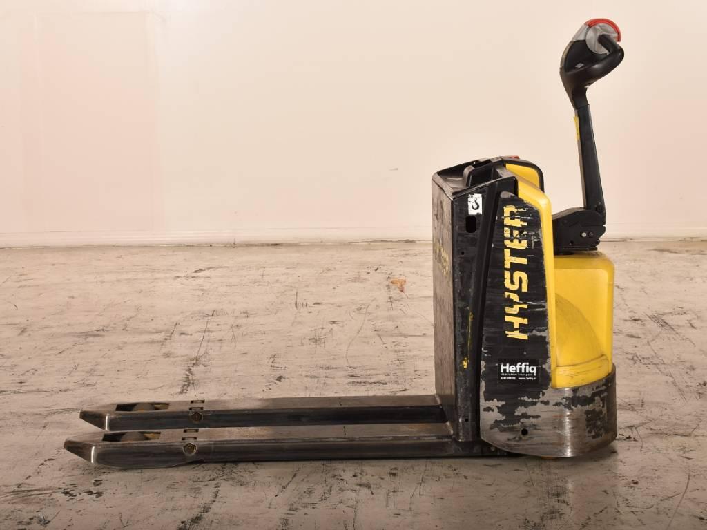 Hyster p1.6, Electro-pallettrucks, Laden en lossen