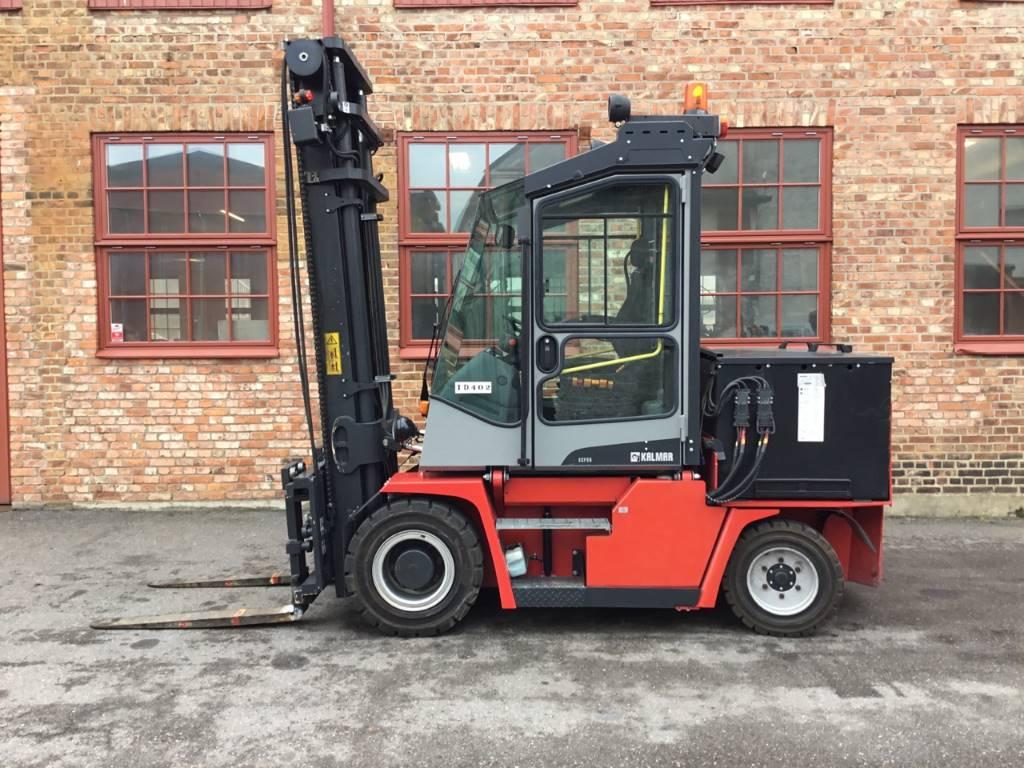 Kalmar ECF 55-6, Electric forklift trucks, Material Handling