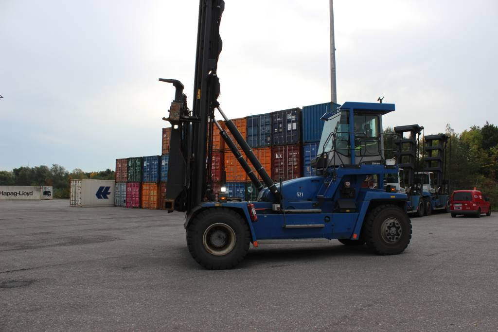 Kalmar DCF100-45E7, Container handlers, Material Handling