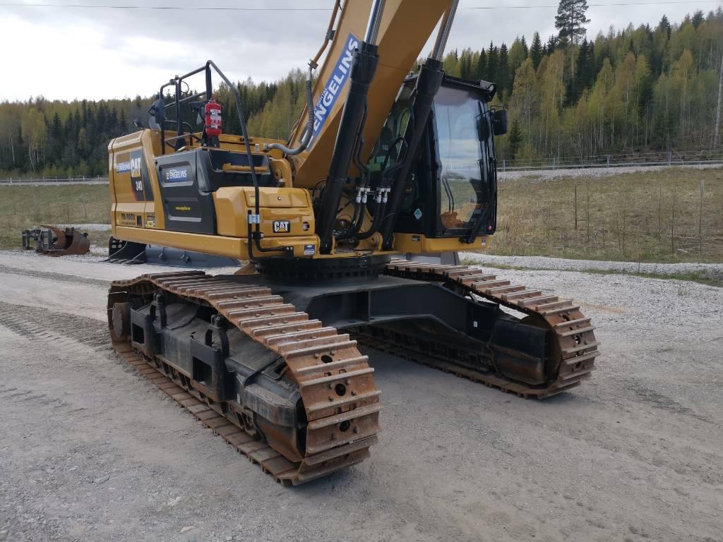 Caterpillar 340 Next Gen, UTHYRES, Bandgrävare, Entreprenad