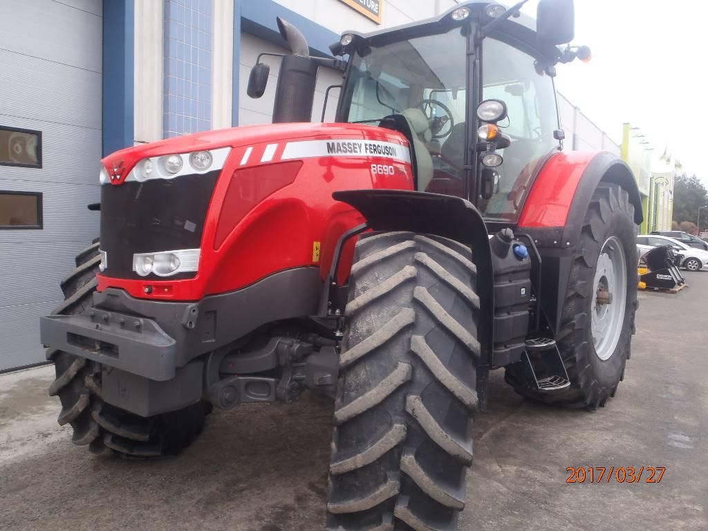 Massey Ferguson 8690 DynaVT, Traktorit, Maatalous