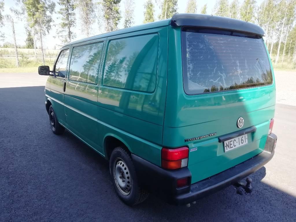 Volkswagen Transporter, Pakettiautot, Kuljetuskalusto