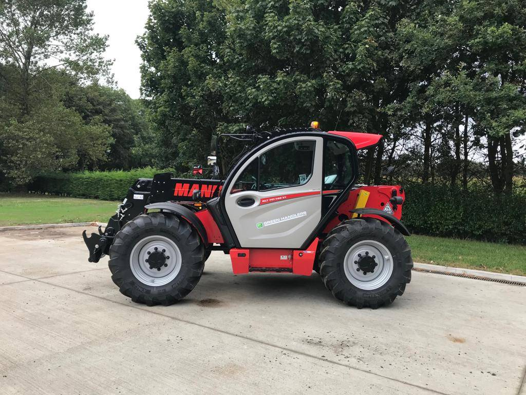 Manitou MLT 741, Telehandlers for agriculture, Agriculture