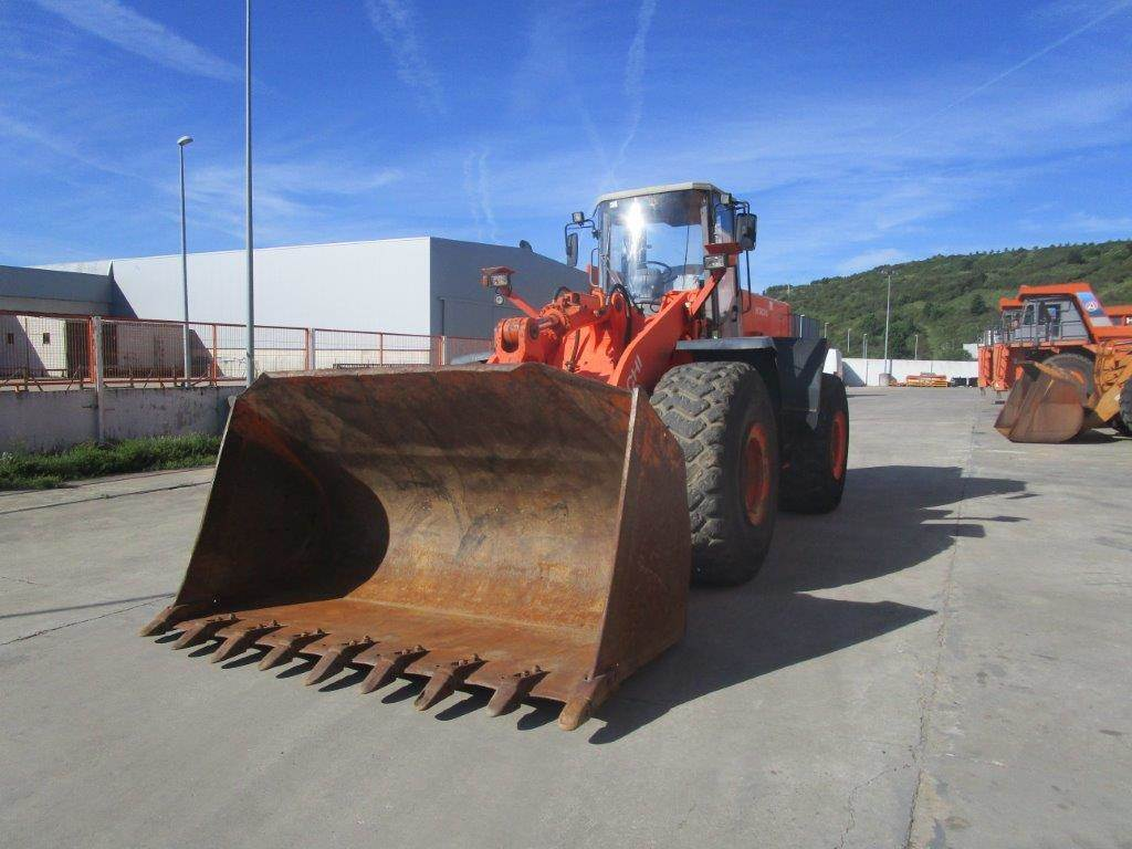 Hitachi LX 290 E, Wheel Loaders, Construction Equipment