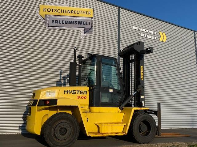 Hyster H9.00XM-6, Diesel counterbalance Forklifts, Material Handling