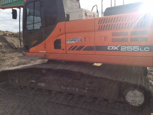 Doosan DX 255 LC-3, Crawler Excavators, Construction Equipment