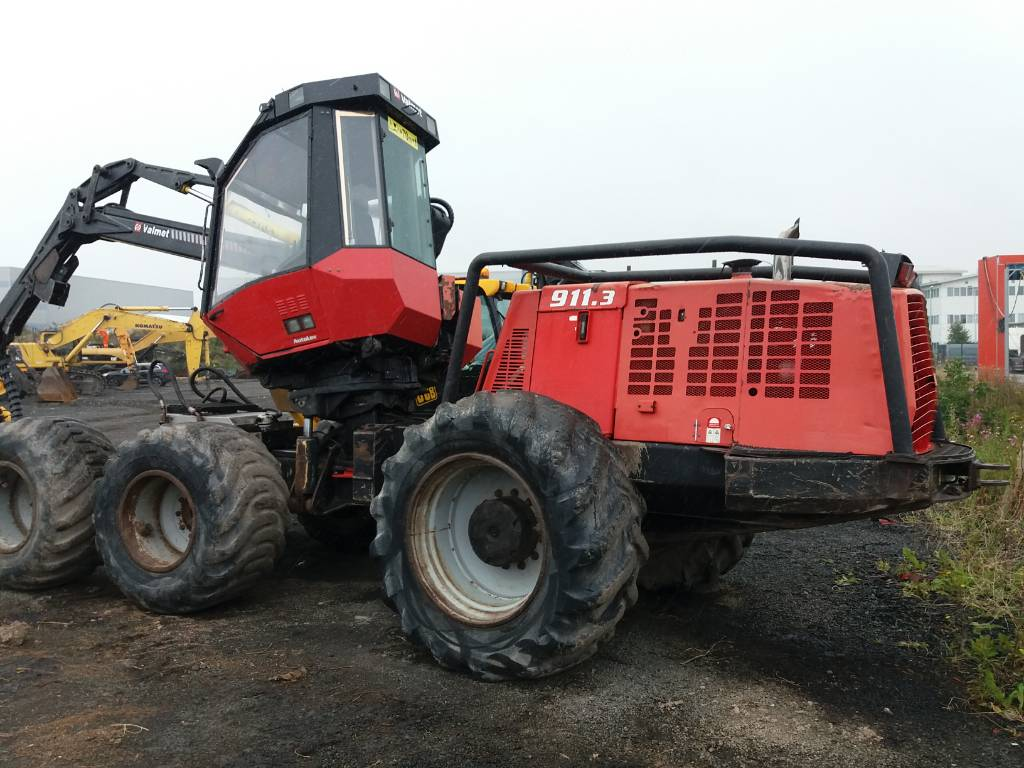Komatsu 911.3, Harvesters, Forestry Equipment