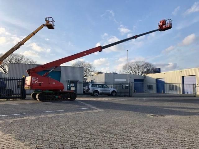 Aichi Rups hoogwerker, 23 m. Diesel, SR 210 / ISR 700, Telescoophoogwerkers, Bouw