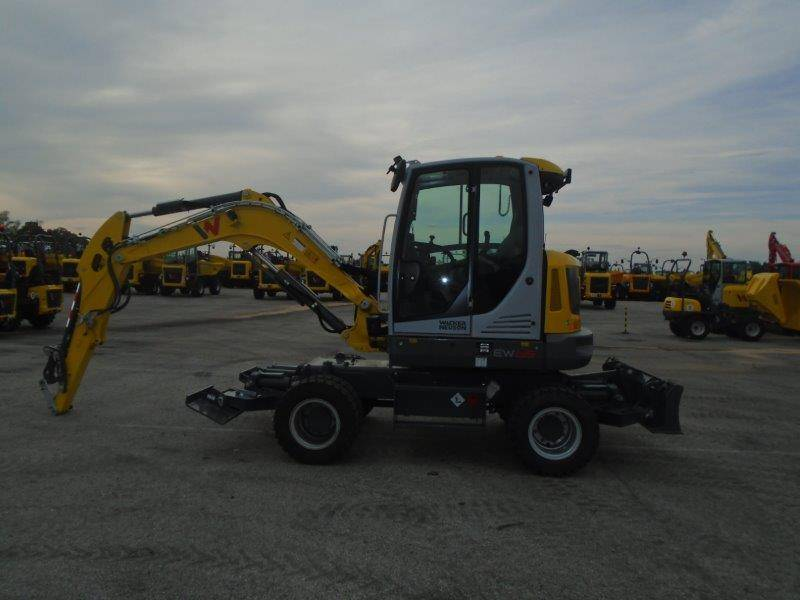Wacker Neuson EW65, Wheel excavators, Products