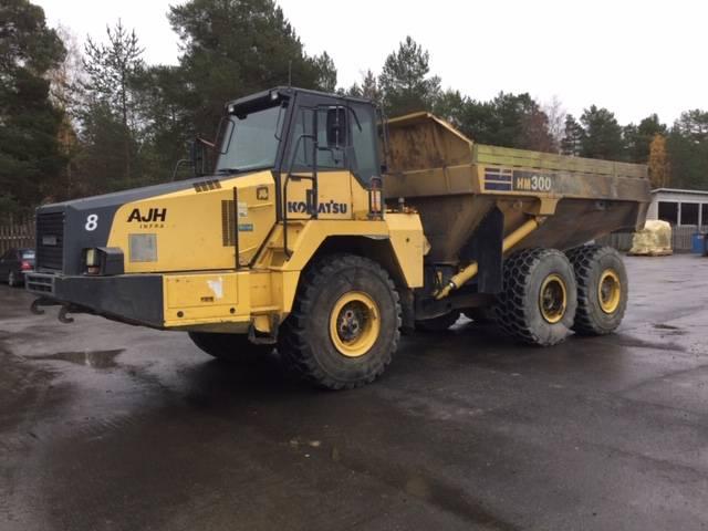 Komatsu HM300-2, Articulated dump trucks, Construction Equipment