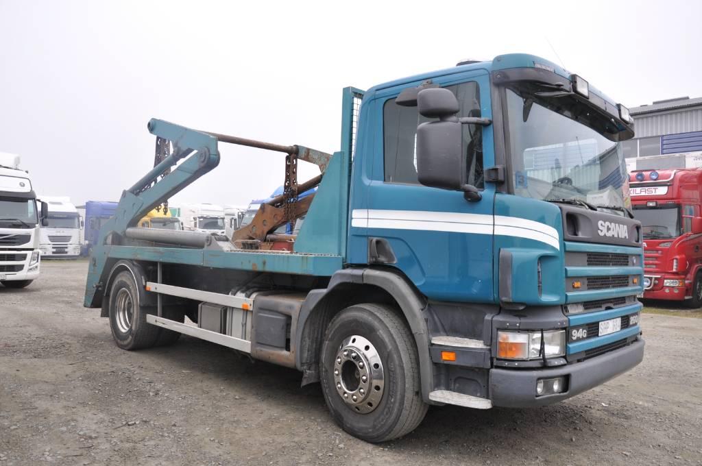 Scania P94GB 4X2 NZ260, Liftdumperbilar, Transportfordon