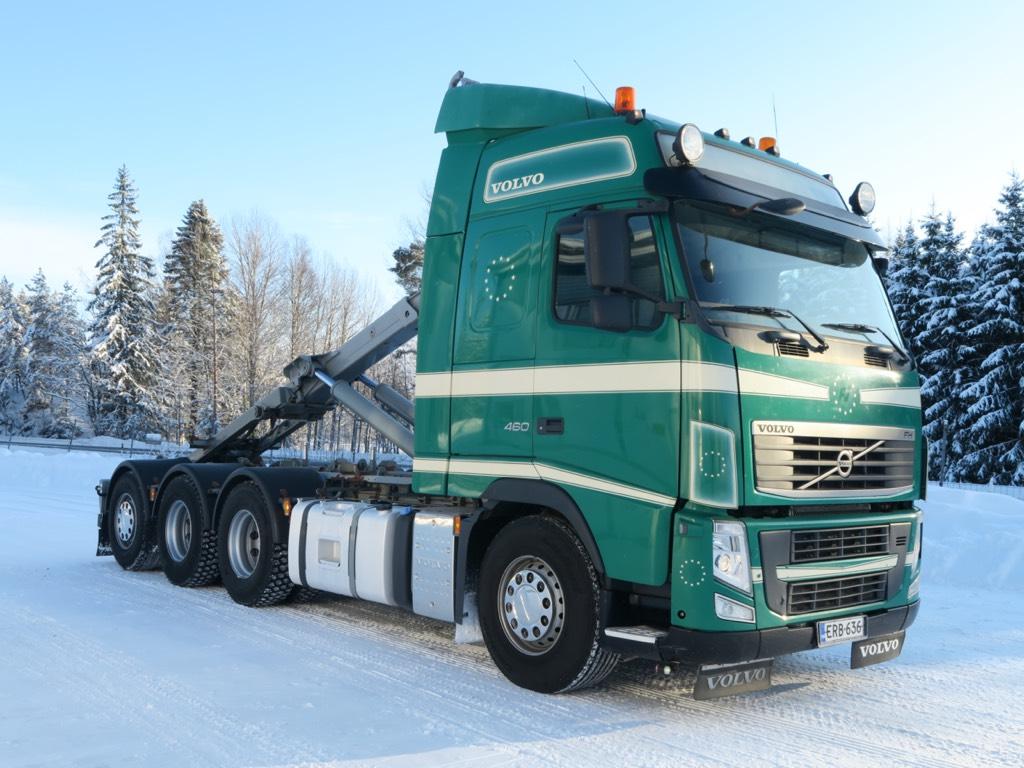 Volvo FH13 8x4*4 tridem, Koukkulava kuorma-autot, Kuljetuskalusto