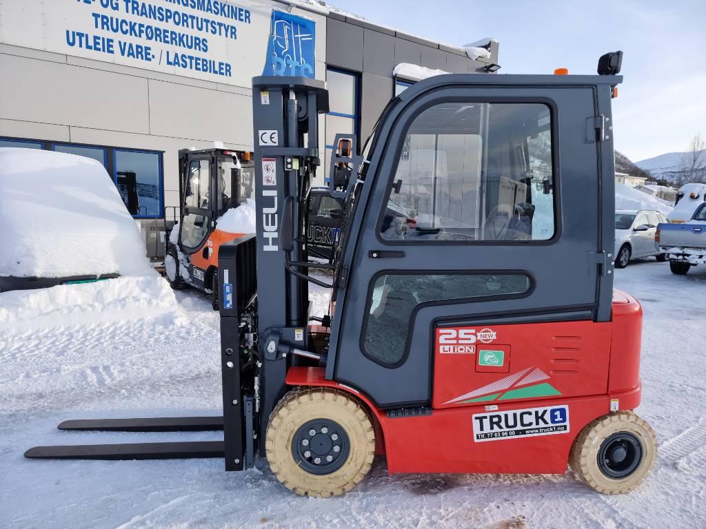 Heli CPD25-GB2LI - 2,5 t el. truck 4,7 m LH (PÅ LAGER), Elektriske trucker, Truck