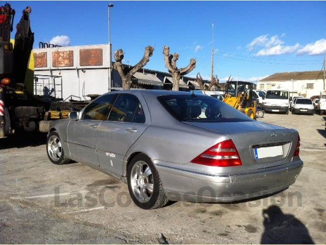 mercedes benz s430 occasion ann e d 39 immatriculation 1999 voiture mercedes benz s430 vendre. Black Bedroom Furniture Sets. Home Design Ideas
