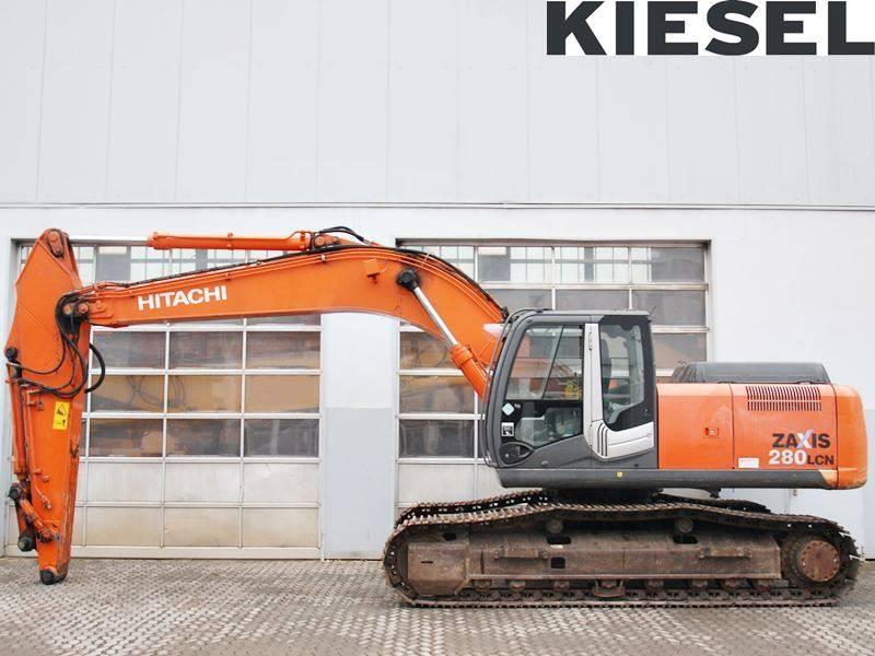 Hitachi ZX 280 LC N-3, Crawler Excavators, Construction Equipment