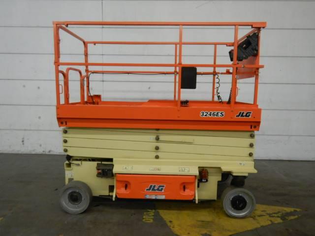 JLG 3246ES, Scissor lifts, Construction