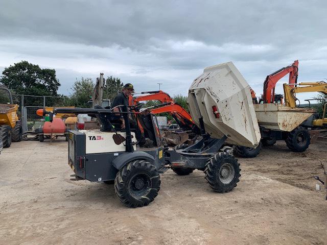Terex TA 3 S, Site dumpers, Construction