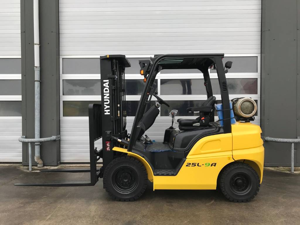 Hyundai 25L-9A 2500kg lpg gas heftruck nieuwe machine, LPG heftrucks, Laden en lossen