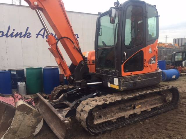 Doosan DX 85 R-3, Midi excavators  7t - 12t, Construction