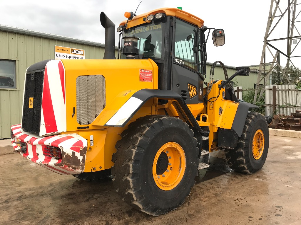JCB 437ZX, Wheel loaders, Construction