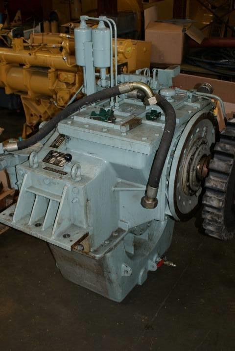 Reintjes WAF 540 - Marine Transmission 3.95:1 - DPH 104095, Transmissions, Construction