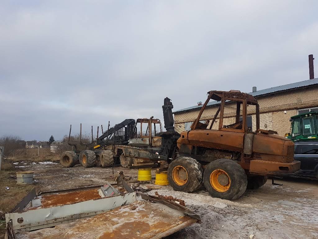 Ponsse Buffalo, Ramar / Chassi, Skogsmaskiner