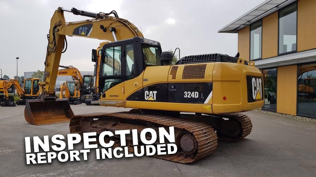 Caterpillar 324 D L, Crawler Excavators, Construction Equipment