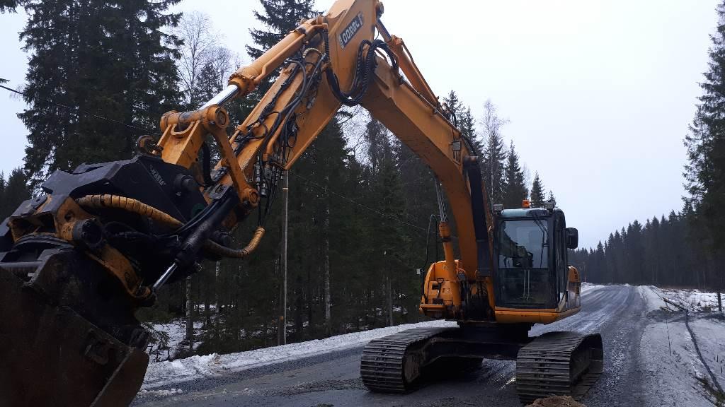 JCB JS 200 LC, Telakaivukoneet, Maarakennus