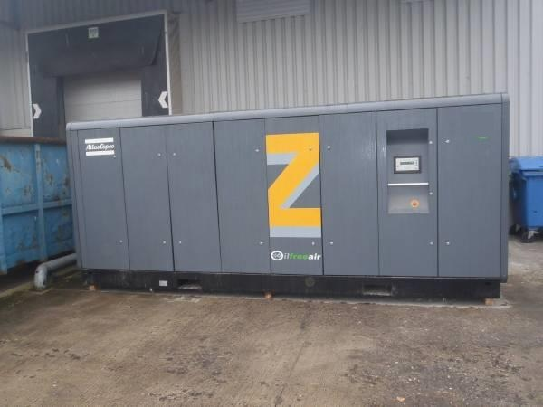 Atlas Copco ZT 275 with IE3 motor (+ MD 600 A), Compressors, Industrial