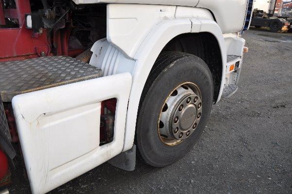 Scania 124 6X2 470, Växelflak-/Containerbilar, Transportfordon