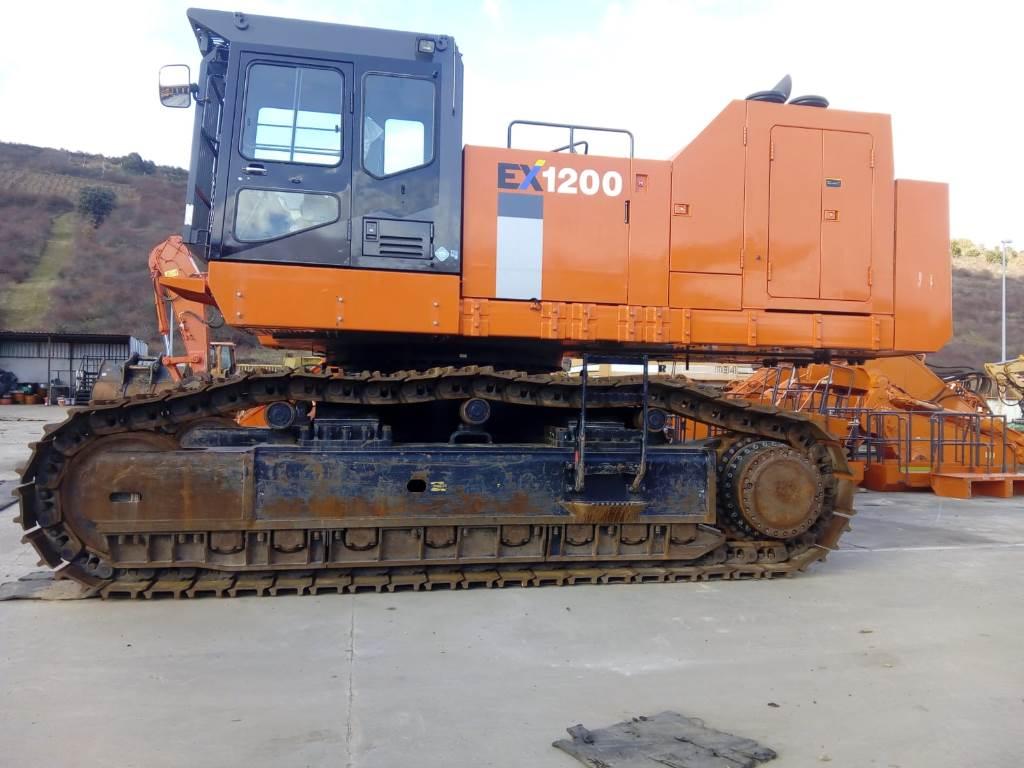 Hitachi EX 1200-6, Crawler Excavators, Construction Equipment
