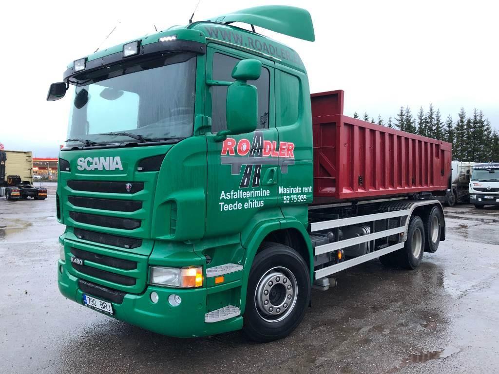 Scania R480 LB6X2MSZ, Konksliftveokid, Transport