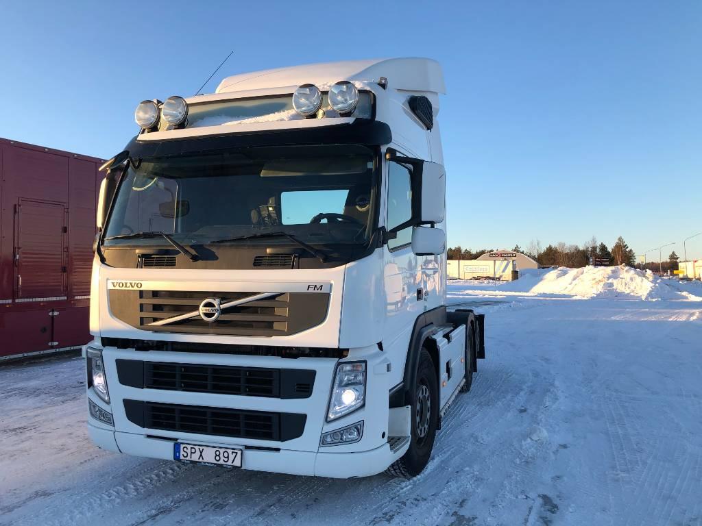 Volvo FM 420, Dragbilar, Transportfordon
