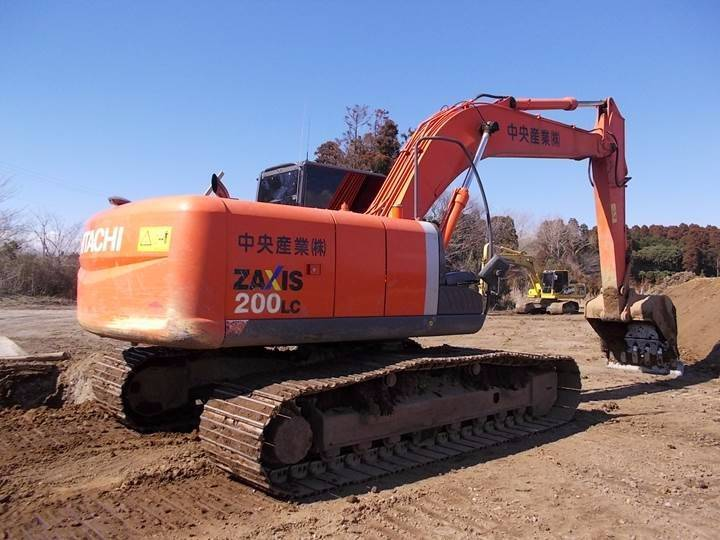 Hitachi ZX200LC-3, Crawler excavators, Construction