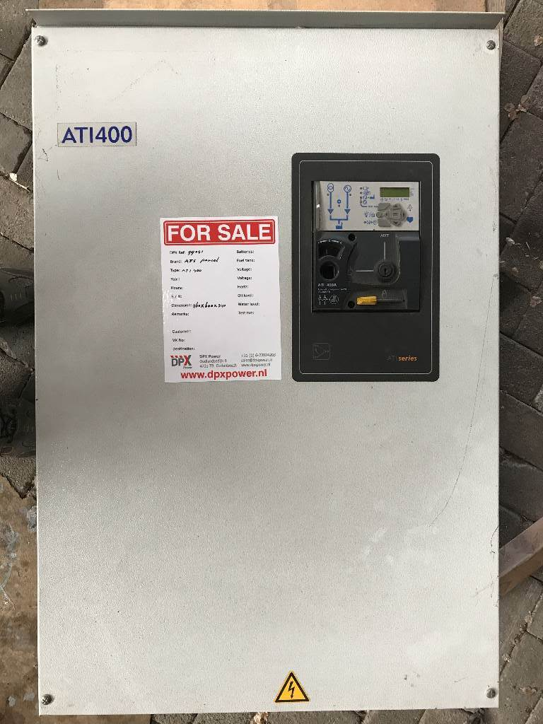 ATS Panel 400A - DPX-99041, Anders, Bouw