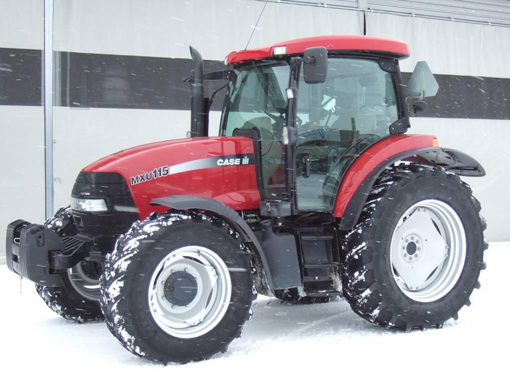 Case IH MXU 115, Traktorit, Maatalous