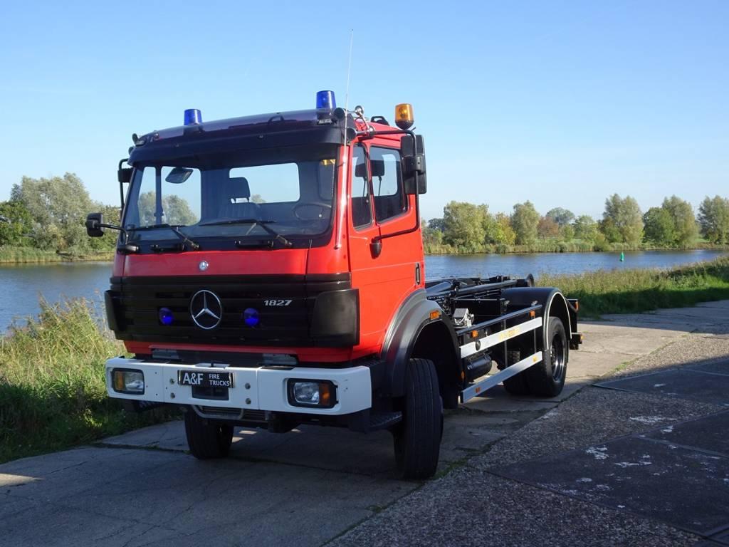 Mercedes-Benz 1827 AK Hook Lift, Hook lift trucks, Transportation