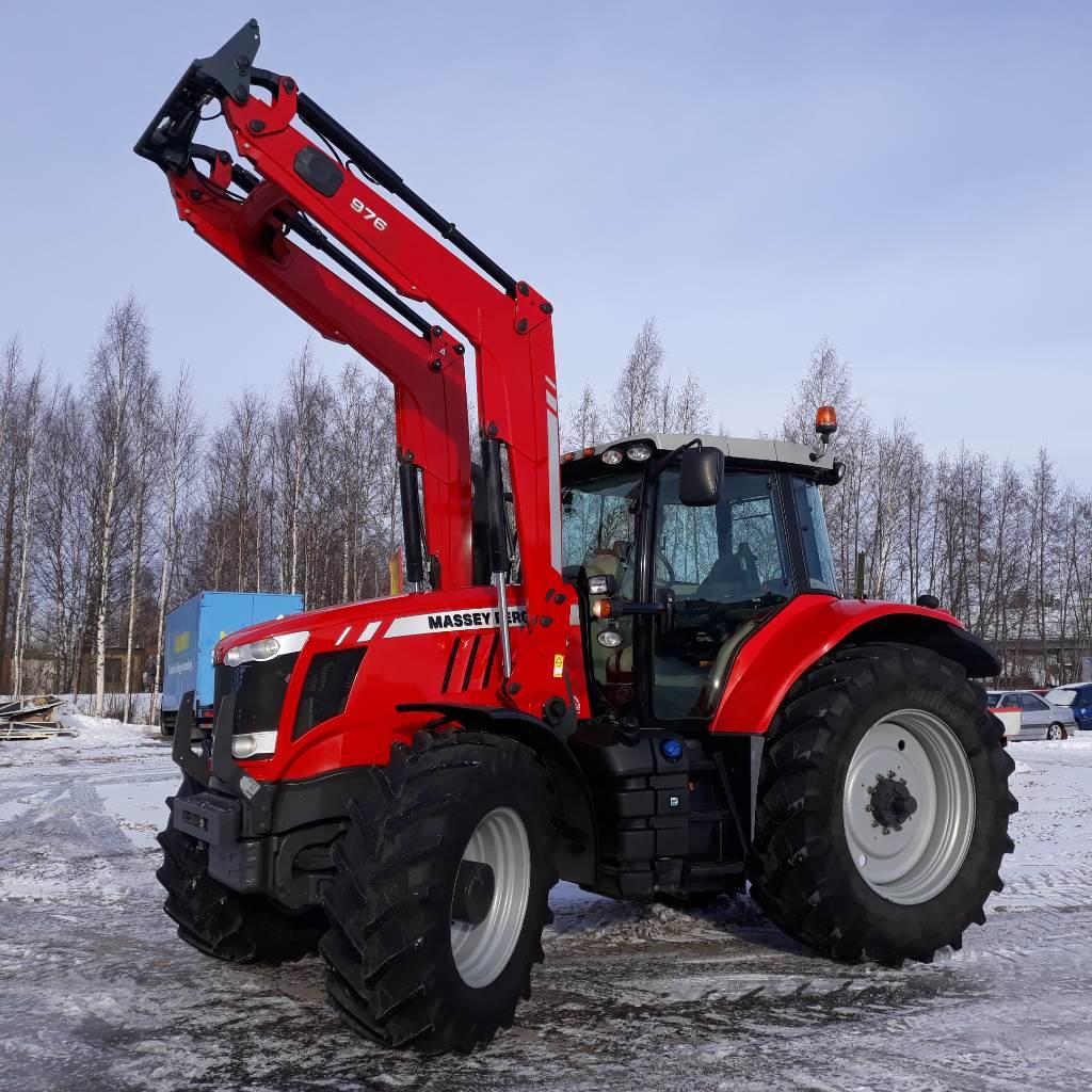 Massey Ferguson 7624 DynaVT Exclusive, Traktorit, Maatalous