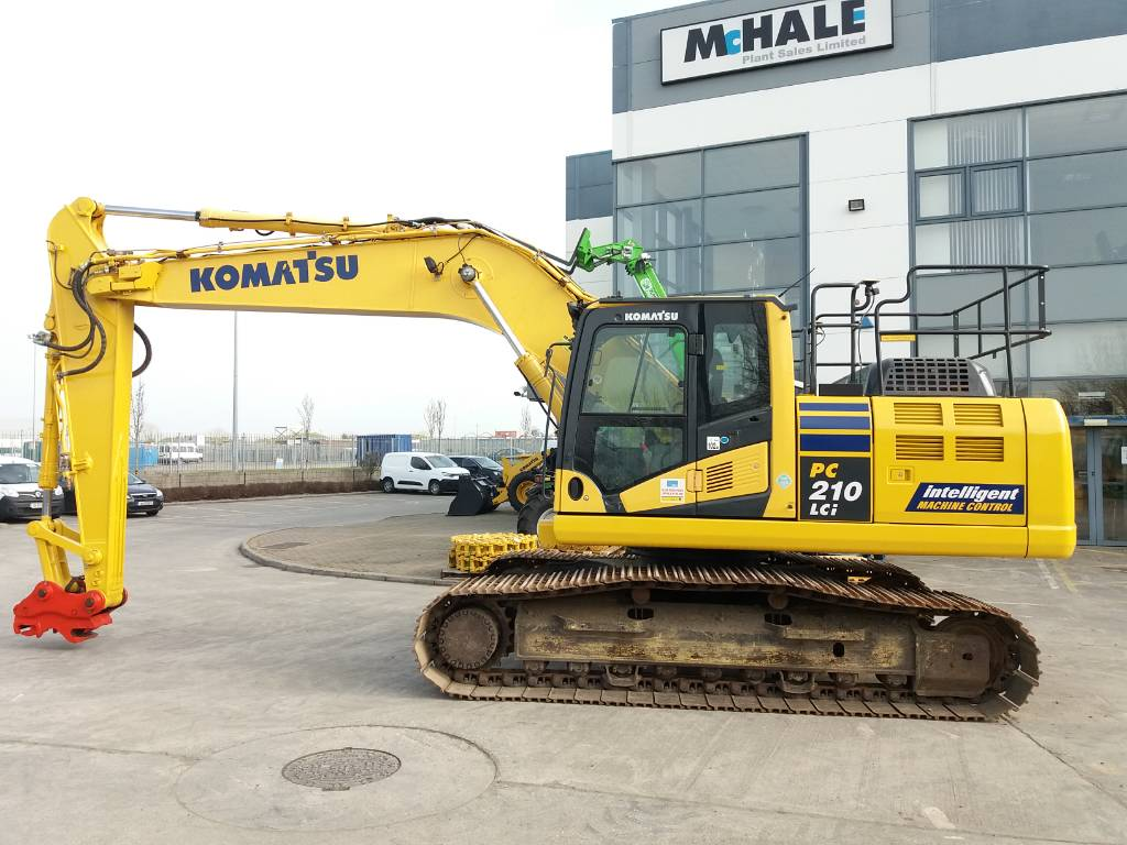Komatsu PC210LCI-10 Intelligent GPS model, Crawler Excavators, Construction Equipment