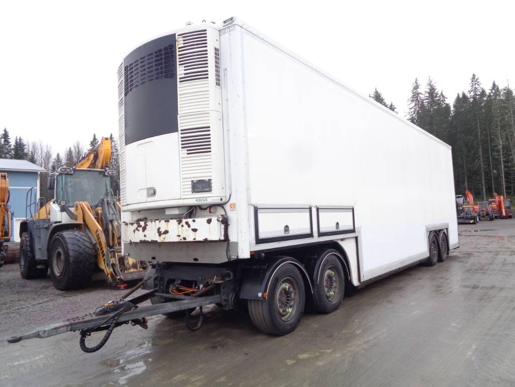 VAK 2-taso, Kylmä-/Lämpökoripuoliperävaunut, Kuljetuskalusto
