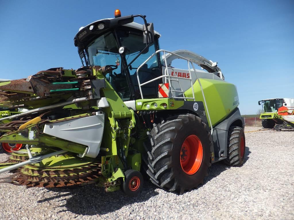 CLAAS Jaguar 870 4 WD, Iseliikuvad silokombainid, Põllumajandus