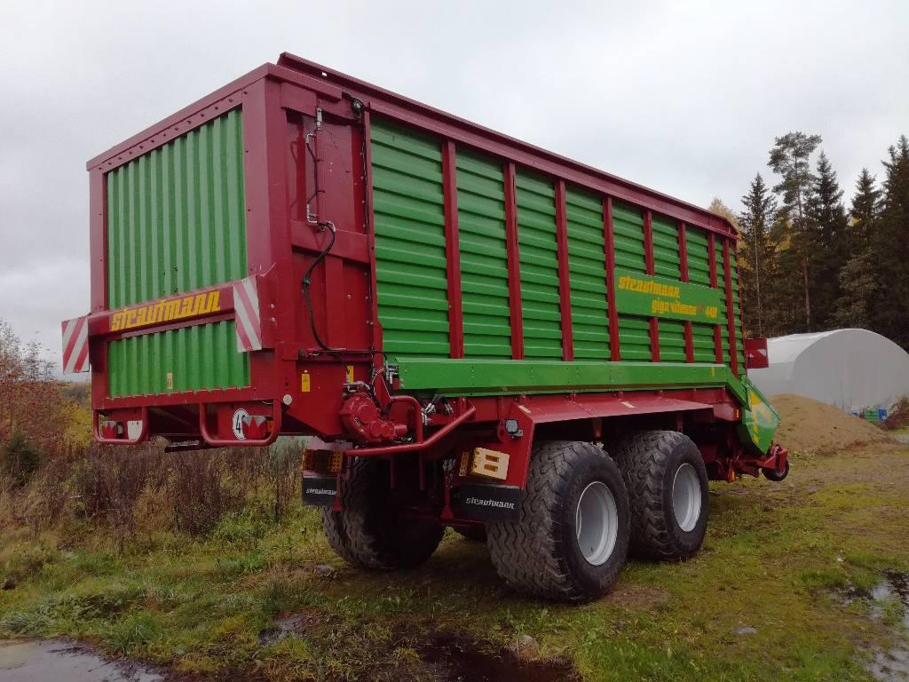 Strautmann Giga-Vitesse CFS 4401, Keräävät noukinvaunut ja silppurivaunut, Maatalous