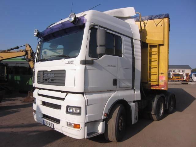 MAN TGA 26.480 6x2, Conventional Trucks / Tractor Trucks, Trucks and Trailers