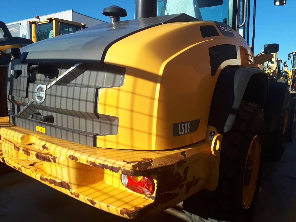 Volvo L 50 F, Cargadoras sobre ruedas, Construcción