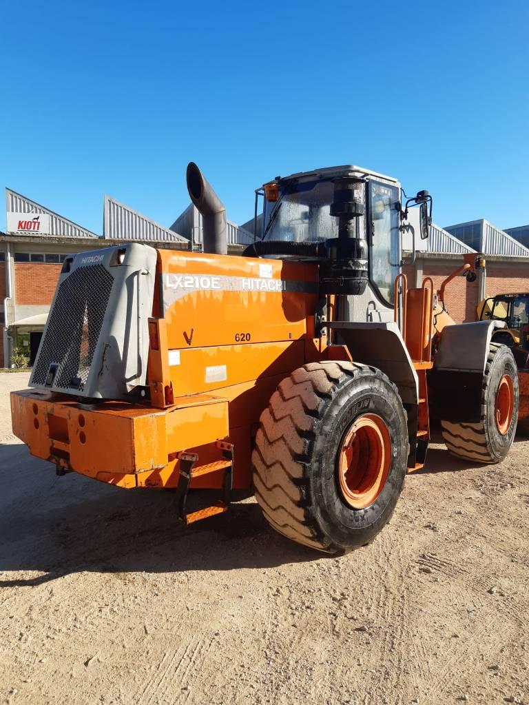 Hitachi LX 210, Wheel Loaders, Construction Equipment