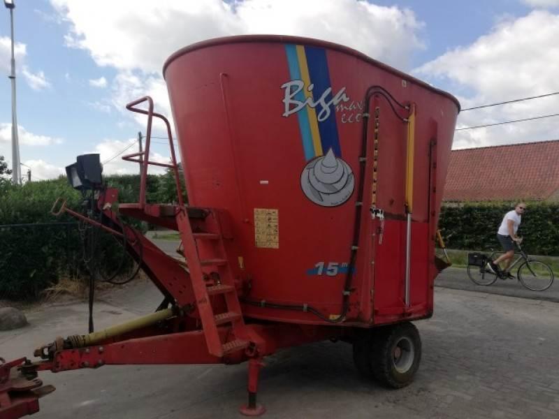 Peecon voermengwagen Biga 15m³, Mengvoedermachines, Landbouw