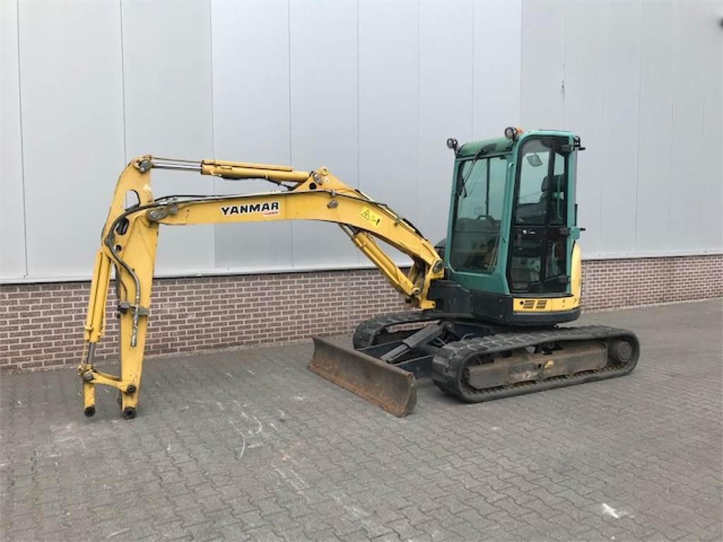 Yanmar VIO57 VIP MINIGRAVER, Mini excavators < 7t (Mini diggers), Construction