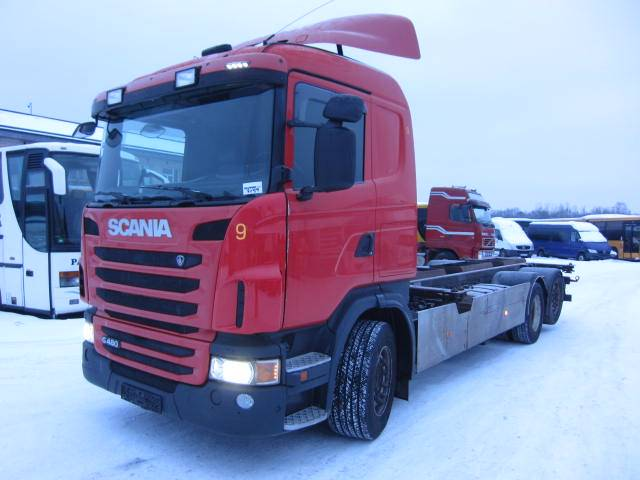 Scania G 480, Konteinerveokid, Transport