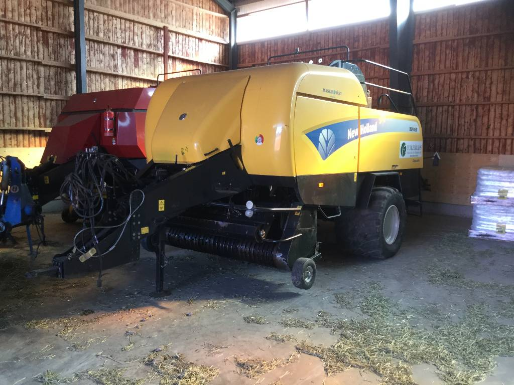 New Holland BB 9060 R, Fyrkantspressar, Lantbruk